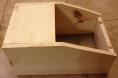 How to build your own rabbit nest boxes, very good instructions