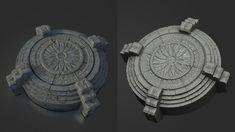 ArtStation - Dungeon of Buddha, jinju lee Dungeon Tiles, 3d Background, Miniture Things, Zbrush, Sculpting, Concept Art, Buddha, Stone, Civilization