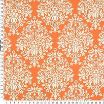 Bella Citrus Collection - Cream Damask on Orange Cotton Fabric This will be the reverse side of my whole cloth quilt. Curtain Fabric, Fabric Decor, Accent Pillows, Throw Pillows, Color Inspiration, Bedroom Inspiration, Hancock Fabrics, Whole Cloth Quilts, Wedding Fabric
