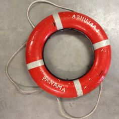 Inspired by... a life-buoy