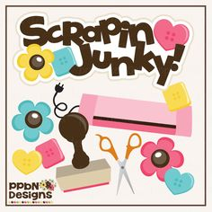 PPbN Designs - Scrappin Junky Set (40% off for Members), $0.63 (http://www.ppbndesigns.com/scrappin-junky-set/)