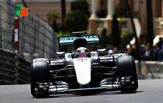 Lewis Hamilton al mando de su Mercedes tomó la delantera desde la largada del Gran Premio de Alemania de Fórmula Uno