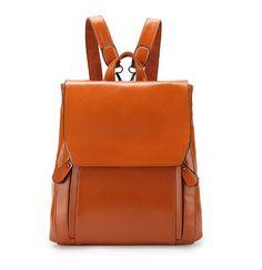 Genuine leather Cowhide Backpack shengdilu brand 2016 women Travel shoulder bag School Bags For Teenagers Girls High-end mochila