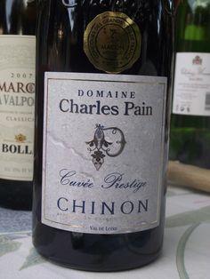Domaine Charles Pain Cuvee Prestige Chinon 2009  Paris, La Queue en Brie, France  12 June 2012