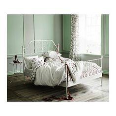 LEIRVIK Bed frame - Luröy, Queen - IKEA