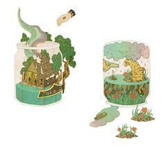 Illustrations by Whooli Chen.
