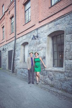 Annevi Photography An Industrial Warehouse Wedding in Sweden: Kari & Torkel