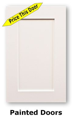 Pre-painted Cabinet Doors are, doors where all of the hard work is done for you with regards to preparing the door for being painted by yourself Cabinet Doors For Sale, Unfinished Cabinet Doors, Shaker Cabinet Doors, Shaker Cabinets, Diy Kitchen Cabinets, Kitchen Cabinet Doors, Kitchen Ideas, Kitchen Design, Cabinet Door Replacement