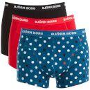 Prezzi e Sconti: #Bjorn borg men's 3 pack contrast dot detail  ad Euro 21.09 in #Bjorn borg #Apparel clothing underwear