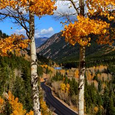 Those beautiful fall days...Georgetown, Colorado
