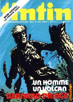 Bernard Prince su Tintin - Le copertine 1969-1979 - http://www.afnews.info/wordpress/2016/08/31/bernard-prince-su-tintin-le-copertine-1969-1979/