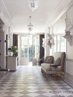 House of Windsor (love the painted reclaimed floor!)