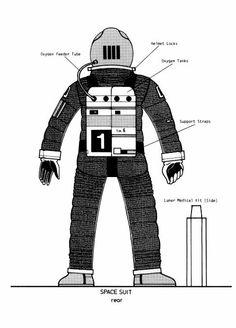 space suit rear - photo #34