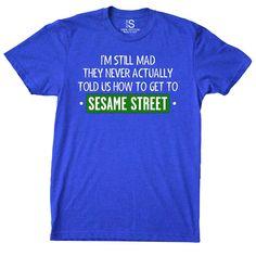 Sesame Street Vintage Men's T Shirt