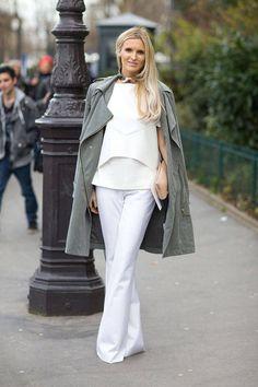 Street Style Paris Fashion Week Fall 2014 - Paris Fashion Week Fall Street Style