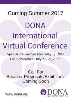 Doula Conference – DONA International