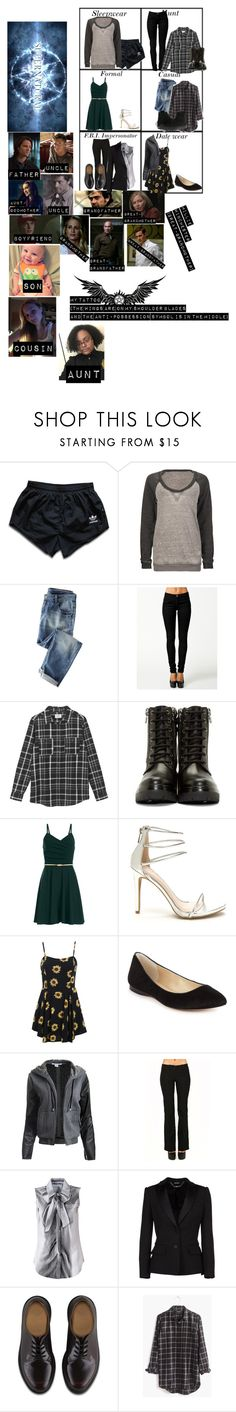 """""""Me in: 'Supernatural' (fixed)"""" by j-j-fandoms ❤ liked on Polyvore featuring adidas, Fox, ONLY, Hush, Moncler, INC International Concepts, Sans Souci, Moschino, Alexander McQueen and Dr. Martens"""