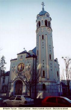 1e1778aa9500d Odon Lechner - Modry Kostolik church Bezrukova Street. Bratislava, Belle  Epoque, San Francisco
