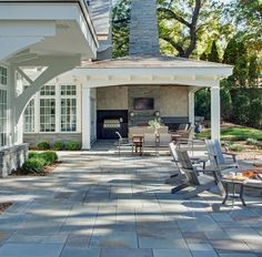 Covered Terrace Home Design Ideas, Pictures, Remodel and Decor
