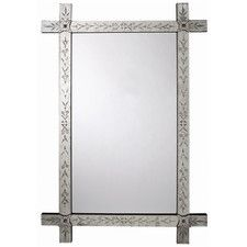 lowprice Winsford Hand Etched Venetian Mirror Ads Revise