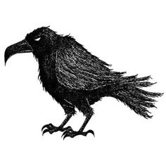 33 Original Raven Tattoo Designs