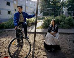 Young Finnish gipsies / Roma people - Suomalaset romaninuoret Kirkkonummelta - Photo: The Roma journey Finland byJoakim Eskildsen