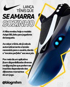 O futuro chegou  Nike lança novo tênis que se amarra sozinho! 4cc395b4ad6fc