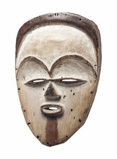 Tsogho or vuvi christ Maximilian Schell, Afro Punk, African Masks, France, Skull, Statues, Jesus Christ, Bible Verses, Collection