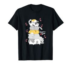 Amazon.com: Cute Anime Kitty Pile Cats Meowtain Kawaii Gift T-Shirt: Clothing  #cats #kitty #catpile #meowtain #kawaii Kawaii Gifts, Store Design, Kitty, Amazon, Cats, Clothing, Mens Tops, Anime, T Shirt
