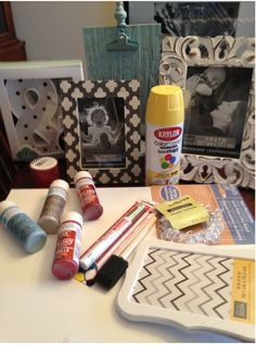 Decorating with Michaels Crafts - Pinterest Inspired Bedroom Update