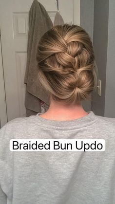 Work Hairstyles, Easy Hairstyles For Long Hair, Pretty Hairstyles, Braided Hairstyles, Wedding Hairstyles, Hair Upstyles, Great Hair, Hair Today, Hair Videos