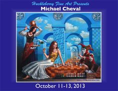 Illusion of Diversity Art by Michael Cheval Surreal illusion art Fantasy Art whimsical Art Magic Realism, Surrealism Painting, Fairytale Art, Circus Theme, Fantastic Art, Michel, Surreal Art, Beautiful Paintings, Contemporary Artists