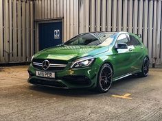 Green Juice. A45 AMG 2016.