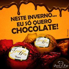 Tema: Inverno = chocolate Agência: Usina da Criação Peça: Post para redes sociais