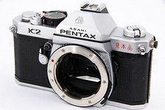 **SAMPLE MODEL**  ***ULTRA RARE!!! *** ASAHI PENTAX K2 Silver Body. SLR camera.