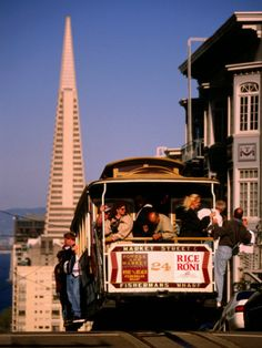 size: Photographic Print: Cable Car on Nob Hill with Transamerica Building in Background, San Francisco, U. by Thomas Winz : Artists Best Cruise, Cruise Vacation, Monuments, Celebrity Infinity, How To Book A Cruise, Sailing Regatta, Sailing Boat, San Francisco California, Boat Plans