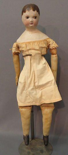 Maida Today: Antique Izannah Walker Type Doll and Izannah Walker Doll