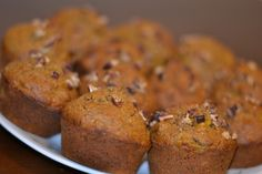 Oat Mango Pecan Muffin (No Sugar No Oil No Flour) - A special recipe for a very special occasion!! One small landmark, a few baby steps and a long blissful journey ahead!! Gobble Gobble everyone!!