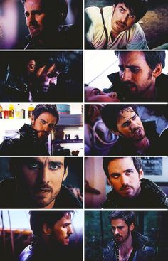 Hook's heartbreaking faces....They could add to this after last nights episode.