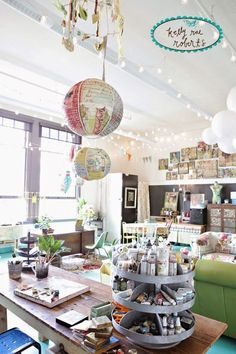 art studio design ideas for small spaces   Modern Little Art and ...