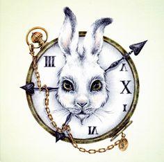 White Rabbit, by Courtney Brims