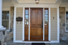 Front Door With Side Lights Design Ideas, Pictures, Remodel, and Decor