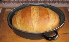 55 ft-ból készíthető el ez a kenyér - receptel! Czech Recipes, My Recipes, Bread Recipes, Dessert Recipes, Cooking Bread, Bread Baking, Slow Cooker Recipes, Cooking Recipes, Super Cookies