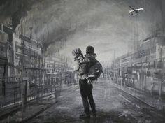 BOXI http://www.widewalls.ch/artist/boxi/ #stencil #streetart #urban #art