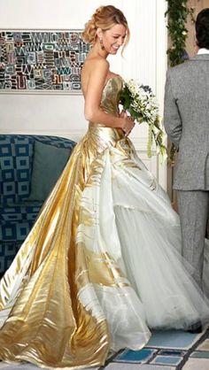 serena van der woodsen wedding dress - Google Search   Projets à ...