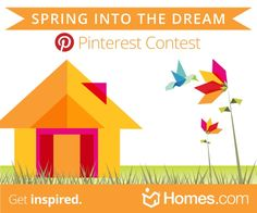 What does Spring into the Dream mean to you? Homes.com would LOVE to know! #SpringintotheDream