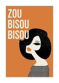 Zou Bisou Bisou...for my friend Stephany...laughing till I cry and I think my sides are literally going to split open