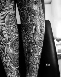 #AncientEgyptian #Egyptian #supremerulerofsound #yas #tattoo #tribaltattoo #tribaldesign #仙台 #東京…