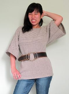 Quadrat pullover by Beautia Dew in Knitty Winter 2009