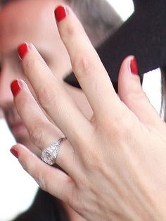 Shot of Kate Mosss ring from Vogue Jewelry Pinterest Ring